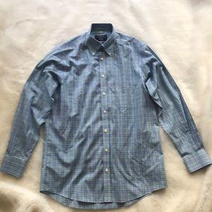 Charles Tyrwhitt Blue/Green Dress Shirt